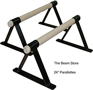 The Beam Store 24-Inch Parallettes (Set of 2) Made in USA