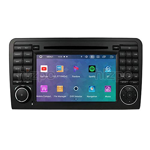 Ossuret Android 10 Car Stereo Radio con Pantalla táctil de 7 Pulgadas para Mercedes Benz ML-Class W164 GL-Class X164 (2005-2012) + Bluetooth Mirrorlink Dab OBD2 DVR TPMS