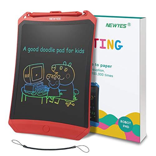 NEWYES Bunte LCD Schreibtafel 8,5 Zoll hellere Schrift mit Anti-Clearance...