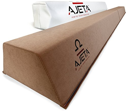 8FT Long Gymnastics Balance Beam with Carry Bag | A Serious Practice Balance Beam for Kids, Beginners & Professional Gymnasts. Non-Slip Home Gymnastics Beam Folding Down to 4' for Easy Storage.