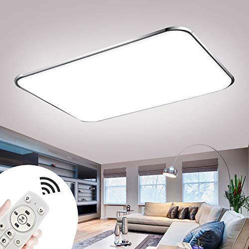 Plafoniere LED 72W Lampada Da Soffitto A LED Dimmerabile Con Telecomando Lampada Da Soggiorno Plafoniera Moderne Cucina Bagno Corridoio Camera Da Letto