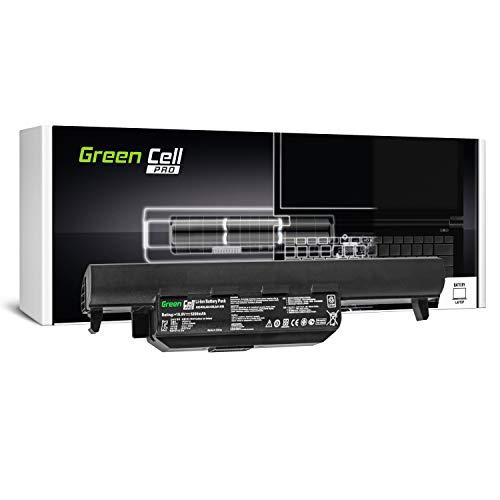 Green Cell Pro Serie A32-K55 Laptop Akku für ASUS F55 F55A F55C F75 F75A F75V F75VB F75VC F75VD R704 R704A R704V R704VB R704VC R704VD (Original Samsung SDI Zellen, 6 Zellen, 5200mAh, Schwarz)