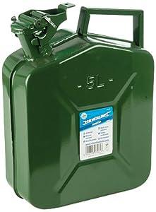 Silverline 342497 - Bidón para gasolina, 5L