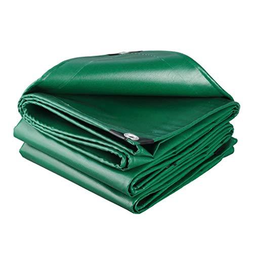 Qjifangfsh Tarpaulin, multifunctioneel, waterdicht, groen 3m*4m
