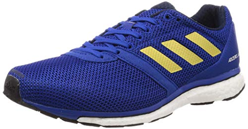adidas Adizero Adios 4 M, Zapatillas de Running para Hombre, Azul (Collegiate Royal/Gold Met./Collegiate Navy Collegiate Royal/Gold Met./Collegiate Navy), 46 EU