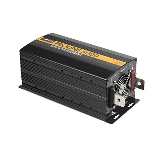 Wagan EL3744 12V 5000 Watt Power Inverter with Remote Control, 10000 Watt Surge Peak Proline Power Converter for Home RV Camping Van Life Off Grid