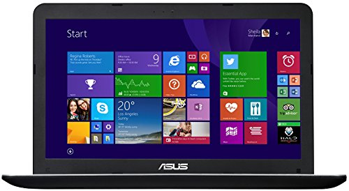 Asus F555LD-XX133H 39,6 cm (15,6 Zoll) Laptop (Intel Core i5 4210U, 1,7GHz, 8GB RAM, 1TB HDD, NVIDIA GeForce 820M, DVD, Win 8) schwarz