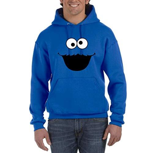 Monstruo de Las Cookies - Sudadera Azul...