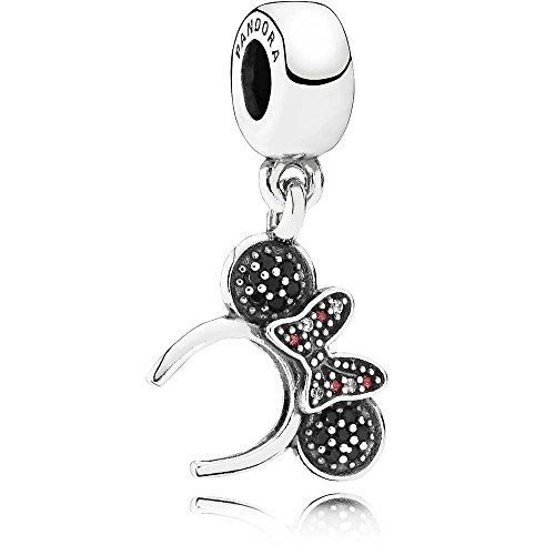 "PANDORA Disney Charm-Anhänger ""Minnies Haarband"" Silber 791562NCK"