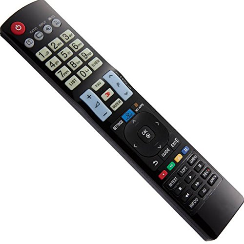 Mando a Distancia de repuesto para LG Smart TV My Aplicaciones 3d 47lm860 V de: Amazon.es: Electrónica