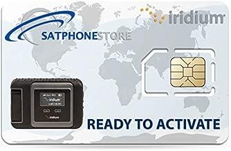 SatPhoneStore Iridium GO! Prepaid Sim Card Ready for Easy Online Activation