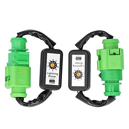 Coche Módulo intermitente de señal de giro dinámica Luces traseras LED a prueba de agua Adaptador de señal de giro dinámica Kits de módulo de luz intermitente de arnés Aptos para A6 C7 2012-2018