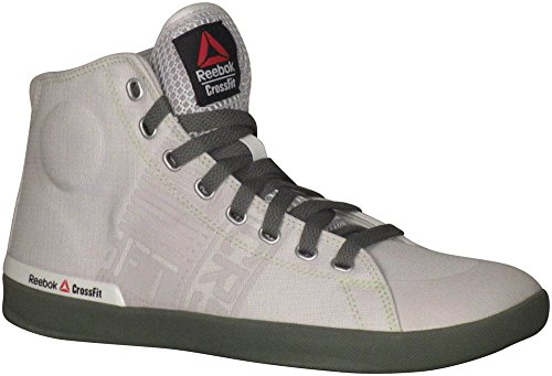 Reebok Women's Crossfit RCF Lite TR TXT Fitness Shoes Mid Top Porcelain/Silvery Green (8)