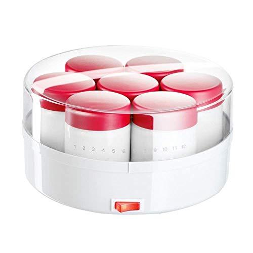 XZJJZ Yogurt Machine-Digital Yogurt Maker Machine - Vasetti di Vetro riutilizzabili ids Coperchi for la conservazione istantanea