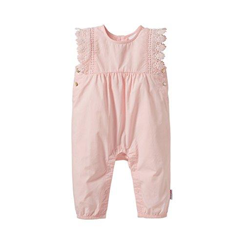 Bornino Dors-bien avec manches à ailettes bébé grenouillère, rose