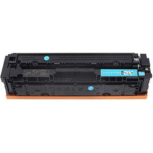 Cartucho de tóner de color compatible con HP 410A CF410A CF411A CF412A CF413A cartucho de tóner original, apto para impresoras láser color Laserjet Pro M452 MFP M477, cian
