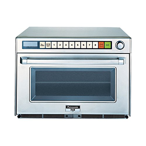 Commercial Series NE-2180 Sonic Steamer Microwave Oven 2100 Watts Connectionless Rethermalizer