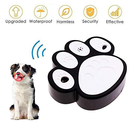 CYWEB Hund Ultraschall Anti Bellen Repeller Effektive Hund Antibell Trainer Barking Stoppen Trainingsgerät, Bellkontrolle für große und kleine Hunde
