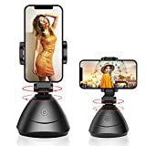Cell Phone Stand Auto 360°Rotation Smart Face Tracking Holder Stabilizer Mount for iPhone Tripod Gimbal Selfie Stick for Smartphone Shooting Video Recording Tripod TIK Tok YouTube