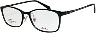 dazzlin ダズリン 軽量 眼鏡 メガネ フレーム DZF2561-2-52 ダークネイビー 汎用ケース