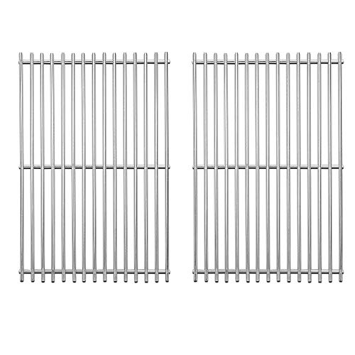 Stainless Steel Grill Grates Replacement for Charbroil, Cooking Grates for Brinkmann 810-8401-S, 810-8532-F, 810-8534-S, Broil-Mate, Charmglow, Grill Chef, Turbo Gas Grill Grid
