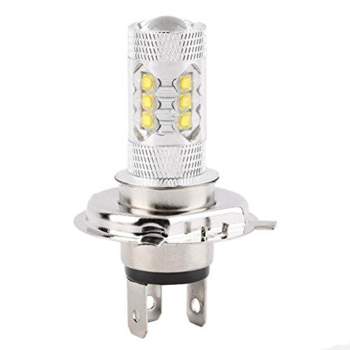 WINOMO H7 LED Voiture Avant Feux-brouillard Ampoules de Phare Avant 80W 6000K 12V Super Blanc Xénon