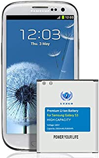 LTZGO batería Compatible con Samsung Galaxy S3 2300mAh Reemplazo de Batería Interna Corresponde a la batería EB-L1G6LLU del Galaxy S3 Modelo GT-i9300 i9305 sin NFC