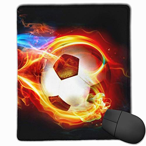 GlattesMauspad,kostenlosescoolesFußball-Handy-Gaming-Mousepad-Arbeitsmauspad-Büropad