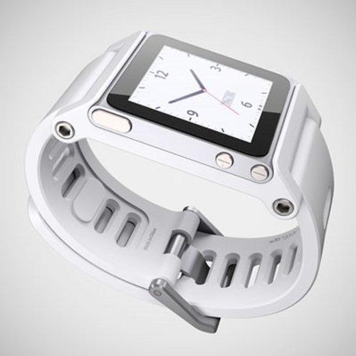 TikTok Multi Touch - Pulsera para iPod Nano 6G Blanco Blanco Talla:Talla única