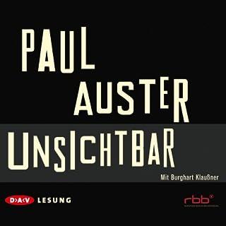 Unsichtbar                   Autor:                                                                                                                                 Paul Auster                               Sprecher:                                                                                                                                 Burghart Klaußner                      Spieldauer: 7 Std. und 20 Min.     57 Bewertungen     Gesamt 4,4