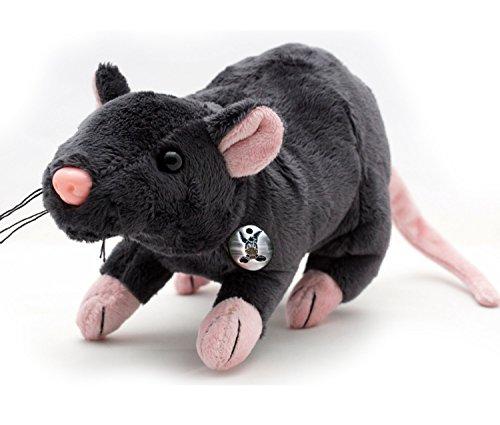 Rat rèmy Gris Souris 29cm Peluche Rat Souris Peluche de kuscheltiere. Biz
