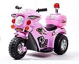 Bck Harley Children's Electric Motorcycle Kids Motorcycle Music Motorbike 6V Batería Niños Bike Toy Toys Toys Car Triciclo para niños Bebé Coche