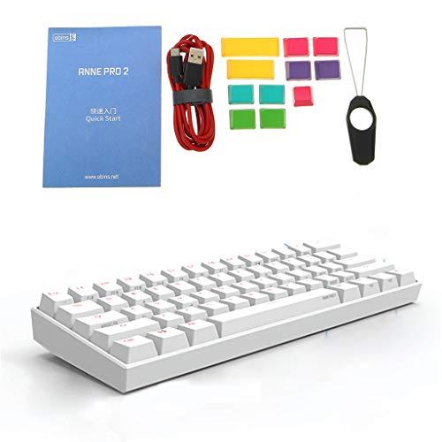 Anne Pro 2 Bluetooth 5.0 Type-C RGB 61 Tasten Mechanische Gaming Tastatur Cherry Switch