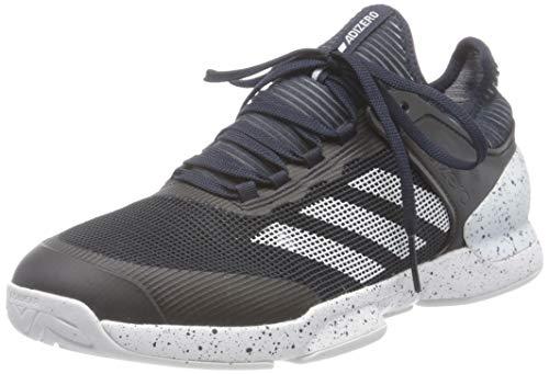 adidas Adizero Ubersonic 2, Scarpe da Tennis. Uomo, Blu Tinley Ftwbla Tinley, 45 1/3 EU