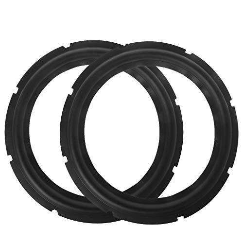Find Bargain Junlinto,Subwoofer Speaker Surround Foam Folding Edge Sound Repair Accessory(10 Inch)
