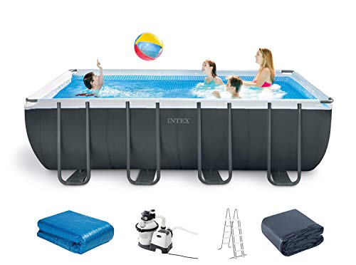 Intex Ultra XTR Frame - Juego de Piscina Rectangular (549 x 274 x 132 cm)