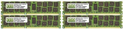 NEMIX RAM 64GB 4X16GB DDR3 ECC Memory for Apple Mac Pro 2013