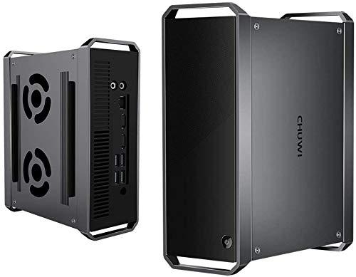 CHUWI CoreBox ミニPC Core i5-5257U 小型PC 8GBメモリー 256GB SSD プロセッサー Windows10 高速Wi-Fi/BT4.2/Type-A/USB 3.0搭載 ファン二つ 最大3.1GHz 静音 Mini PC