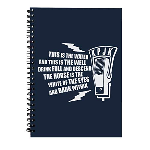 This is The Water Quote Twin Peaks Spiral Notebook