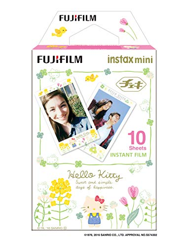 Fujifilm Instax Mini Hello Kitty3 WW1 Film, Weiß