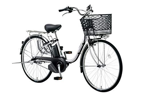 PANASONIC BE-ELSX632-S2 シャイニーシルバー ビビ・SX 電動アシスト自転車 26インチ・内装3段