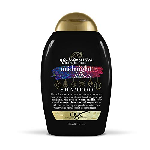 OGX Nicole Guerriero Limited Edition Midnight Kisses Shampoo, 13 Ounce