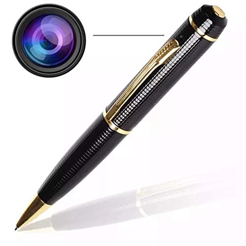 Best Hidden Spy Pen Camera HD Portable Security Camera Body Cam Wireless Business Cam Mini Camera with Charger Cord & Case