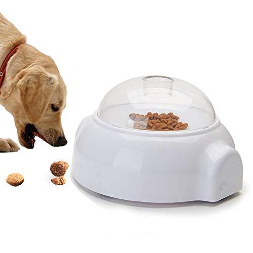 CITTATREND - Distributore di espulsione di Cibo Anti-Scivolo per Cane, Giocattolo interattivo, Lanciatore di Alimenti, Dolci, crocchette per Cuccioli e Gatti