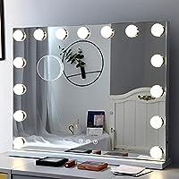 Fenair Lights and Magnification Hollywood Vanity Makeup Mirror