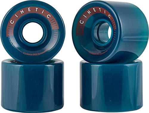 Cinetic Lynx - Ruedas suaves para Longboard Cruiser y Penny 62 mm...