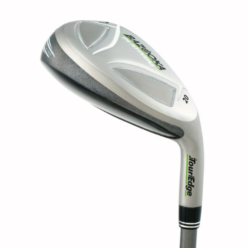 Tour Edge Bazooka Platinum Golf Iron Wood, Ladies, Right Hand, Graphite, Ladies, #4 Hybrid