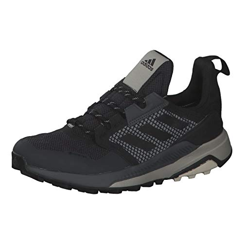 adidas Terrex Trailmaker GTX, Zapatillas de Hiking Unisex niños, NEGBÁS/NEGBÁS/ALUMIN, 38.67 EU