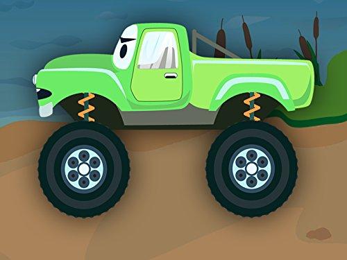 Grüner Monster Truck