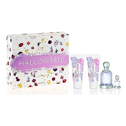 Set de Perfume Mujer Halloween Jesus Del Pozo (4 pcs) Perfume Original | Perfume de Mujer | Colonias y Fragancias de Mujer